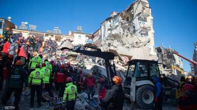 تركيا.. وقف عمليات البحث عن ناجين وكشف حصيلة الزلزال المدمر