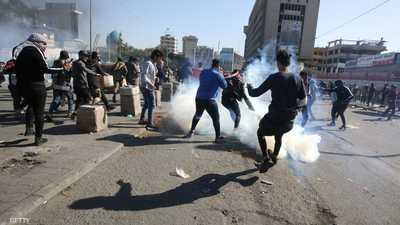 """العراق.. استمرار الاحتجاجات وإدانة دولية """"للقوة المفرطة"""""""