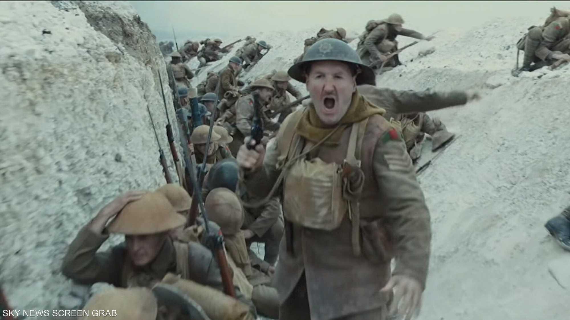 فيلم 1917 يحقق 100 مليون دولار منذ طرحه