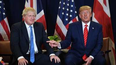 """بريطانيا ترى """"خطوة إيجابية"""" في خطة ترامب للسلام"""