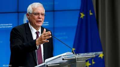 """وزير خارجية الاتحاد الأوروبي في إيران لـ""""تهدئة التوتر"""""""