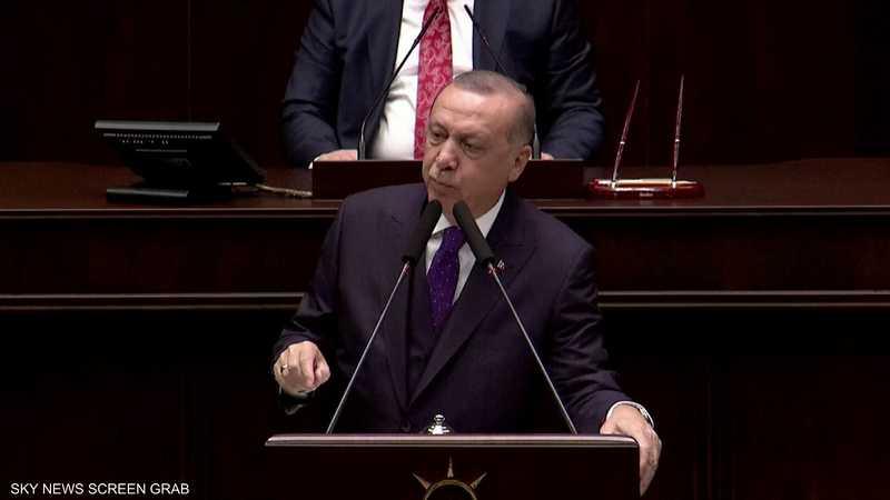 أردوغان: أتمنى من الجيش السوري الانسحاب قبل نهاية فبراير