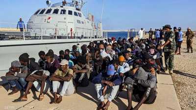 زيادة هائلة في عدد المهاجرين الذين تم إيقافهم قبالة ليبيا
