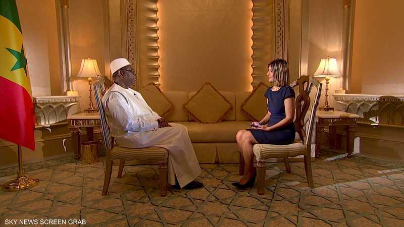 رئيس جمهورية السنغال ماكي سال