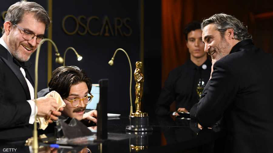 أفضل ممثل خواكين فينيكس بانتظار حفر اسمه على الأوسكار