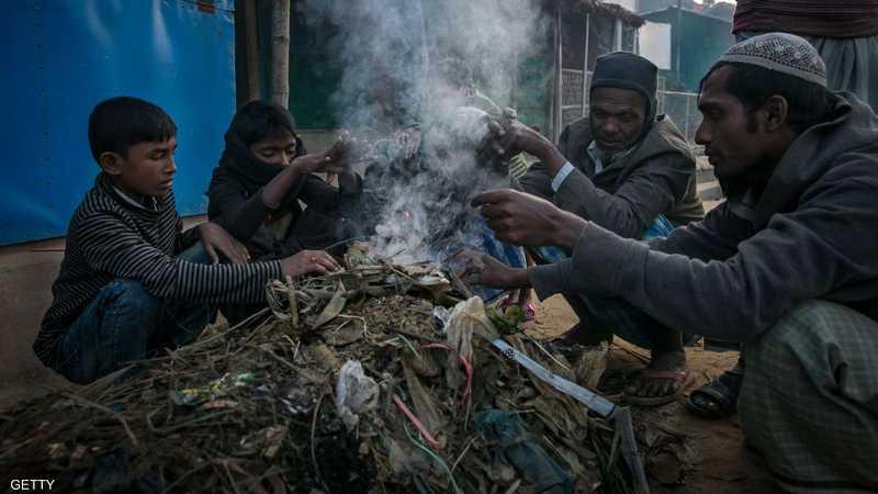 يعيش الروهينغا أوضاعا صعبة في مخيماتهم