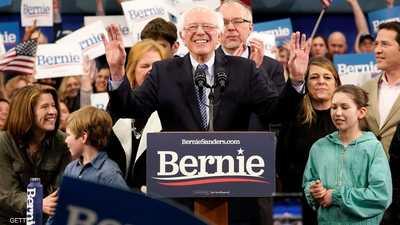 ساندرز يتصدر انتخابات الديمقراطيين للرئاسة في نيو هامشير