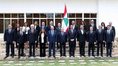 الأزمة المالية على طاولة أول اجتماع للحكومة اللبنانية