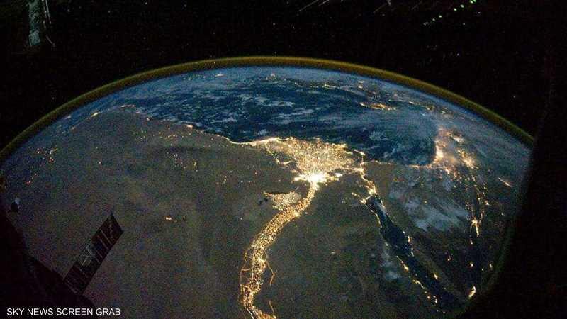 """""""صورة ليلية لمصر"""""""