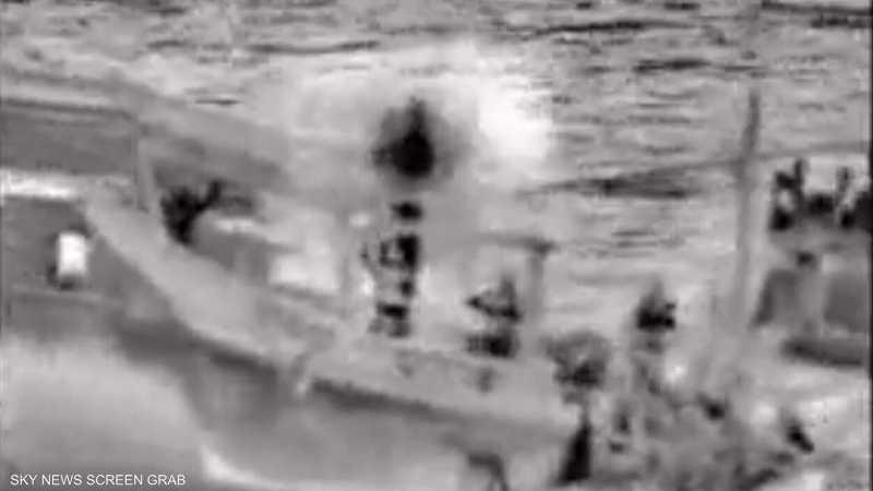 سفينة يو أس أس نورماندي تصادر 150 صاروخا في بحرب العرب