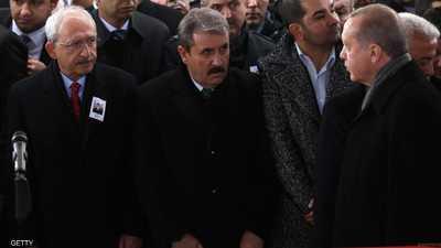 أردوغان يقاضي زعيم المعارضة.. ويطالبه بنصف مليون ليرة