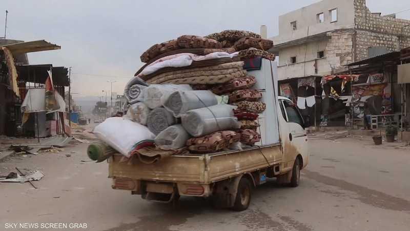 أكثر من 800 ألف نازح في إدلب