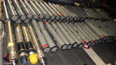 بومبيو يعلق على مصادرة صواريخ إيرانية في طريقها للحوثيين