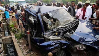 """دهس مارة بـ""""حادث مأساوي"""" في كينشاسا"""