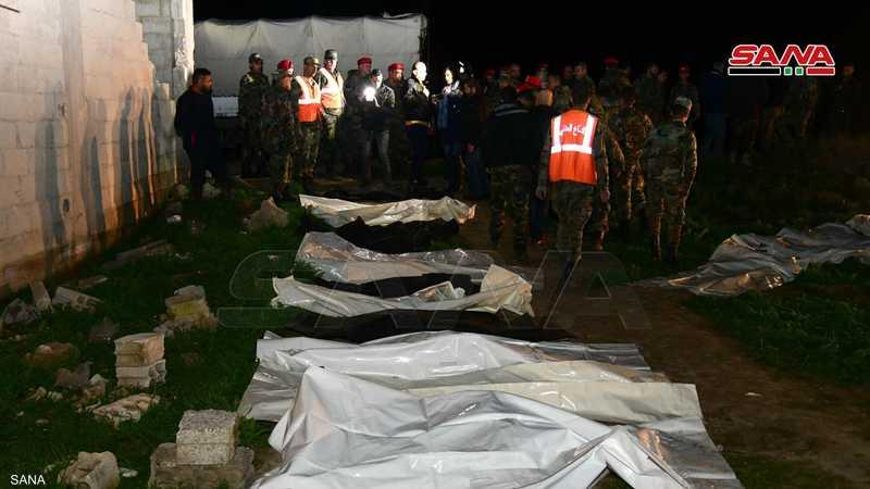 تم العثور على المقبرة الجماعية في الغوطة الشرقية
