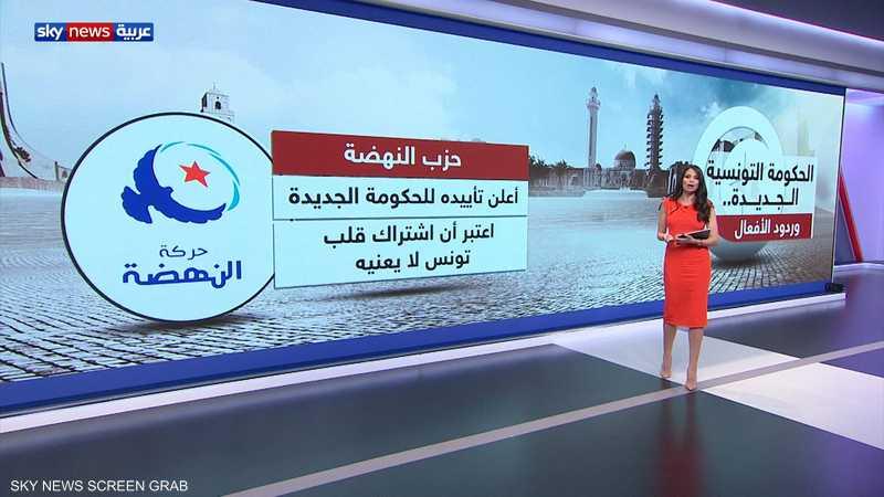الحكومة التونسية الجديدة.. وردود الأفعال