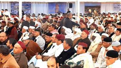 مؤتمر شيوخ ليبيا يعلن تحريك قضايا دولية ضد قطر وتركيا