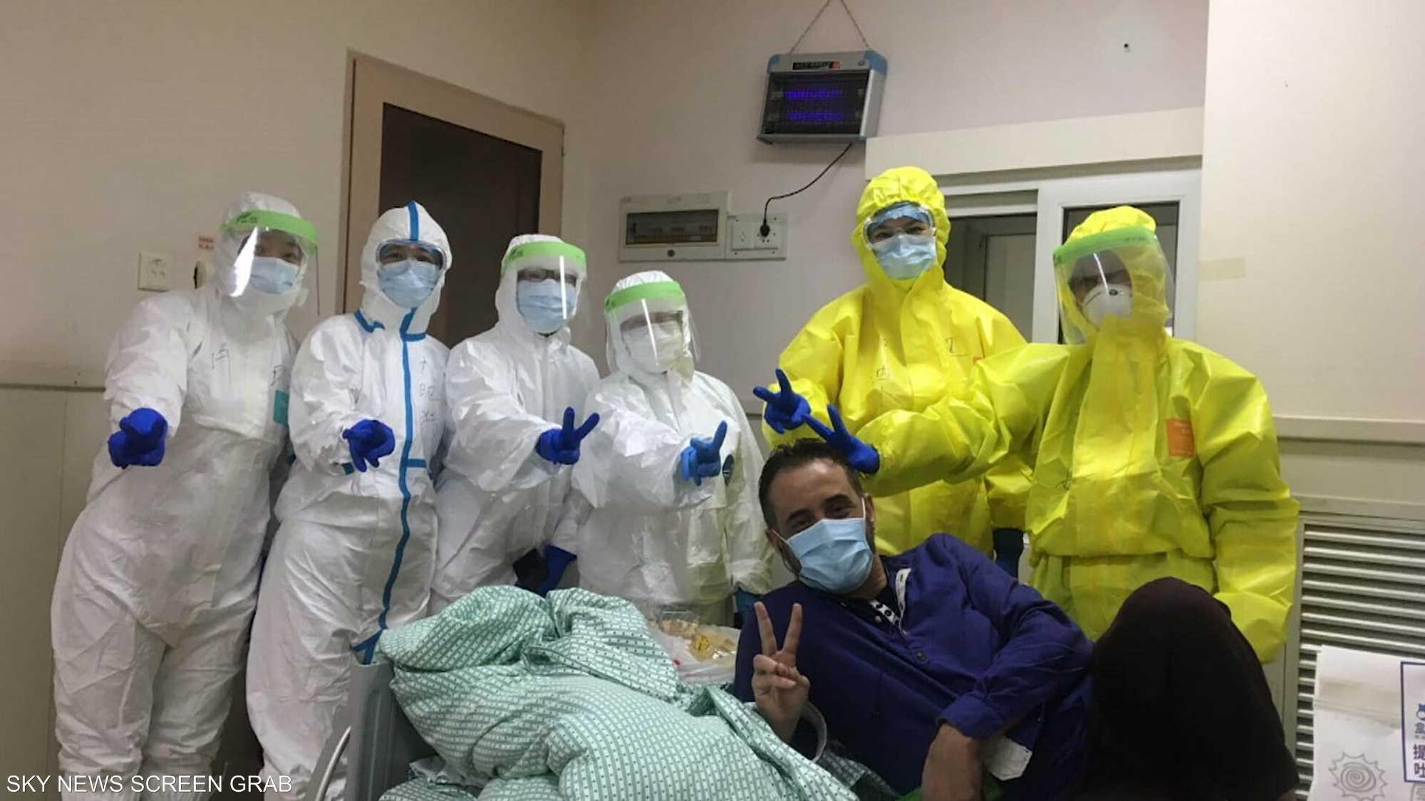 لقاء مع أول عربي مصاب بفيروس كورونا