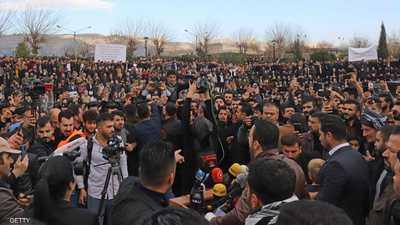 الآلاف يتظاهرون ضد الفساد في كردستان العراق