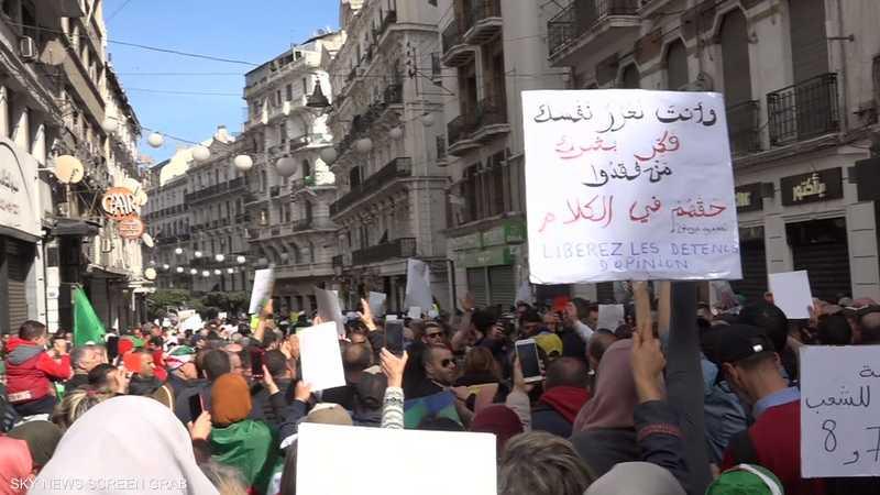 الجزائر.. تظاهرات في الذكرى الأولى لانطلاق الحراك الشعبي