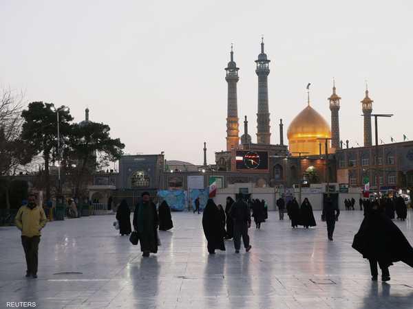 مدينة قم أصبحت بؤرة فيروس كورونا في إيران