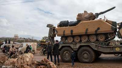الجيش السوري يطلق 50 قذيفة على نقطة تركية في إدلب
