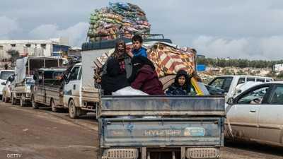 الصليب الأحمر يدعو إلى السماح للمدنيين بالعبور الآمن في إدلب