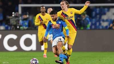 الفرنسي أنطوان غريزمان أدرك التعادل لبرشلونة في الدقيقة 57