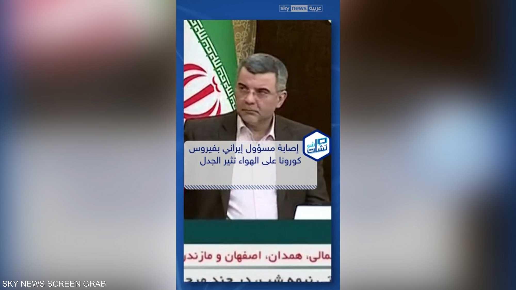إصابة مسؤول إيراني بفيروس كورونا
