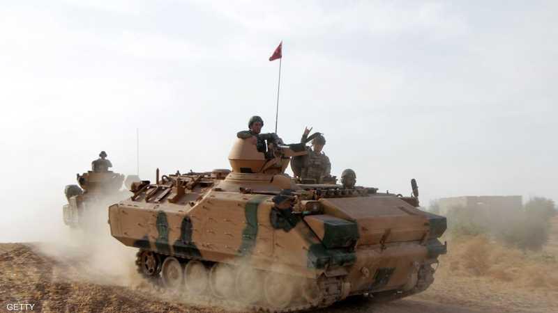 مدرعة تركيا في شمال سوريا