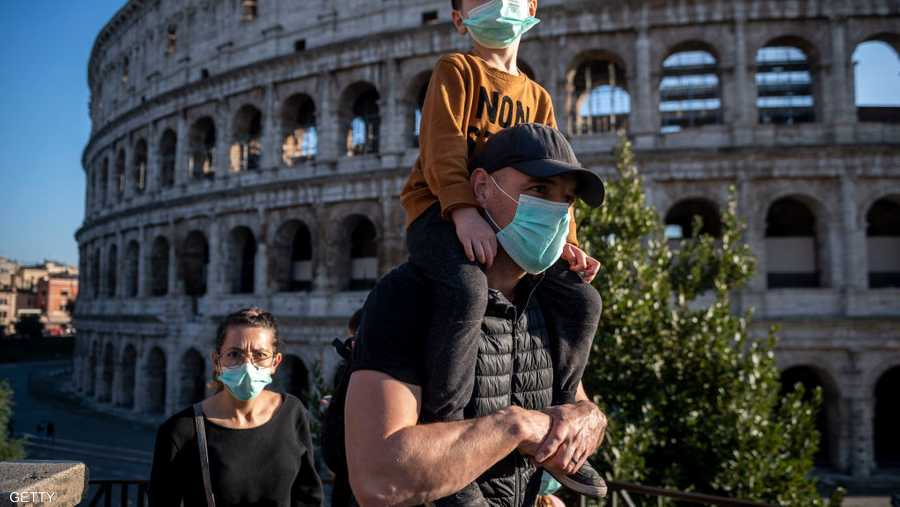 السياحة في إيطاليا تأثرت بسبب كورونا