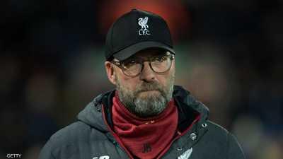 الألماني يورغن كلوب المدير الفني لفريق ليفربول الإنجليزي