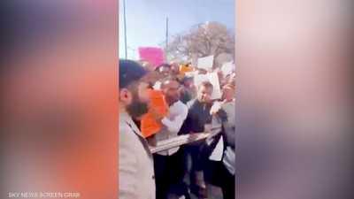 احتجاجات أمام مقري رئاسة الوزراء ووزارة المالية في طرابلس