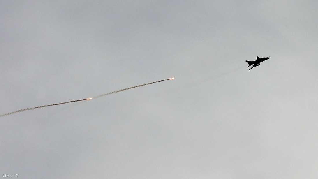 الطائرة السورية أسقطت بصاروخ من أخرى تركية - أرشيفية