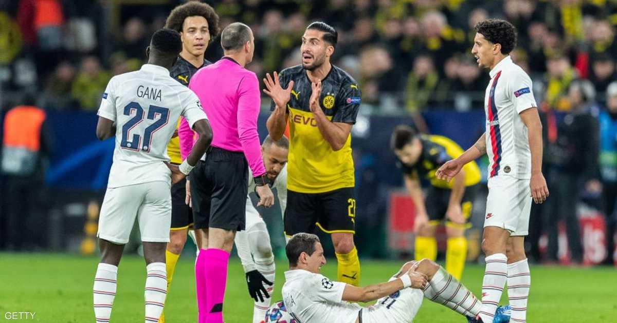 """ضربة مزدوجة.. """"كورونا"""" يصيب دوري أبطال أوروبا والدوري الفرنسي"""