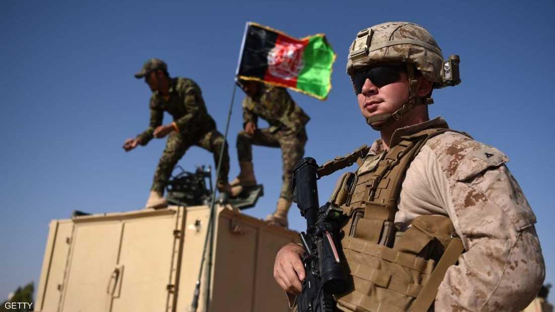جندي أميركي في أفغانستان