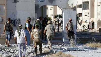 الجيش الليبي يدمر أهدافا تركية شرقي مصراتة