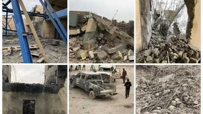 بالصور.. الجيش العراقي يكشف عن خسائره في الضربات الأميركية