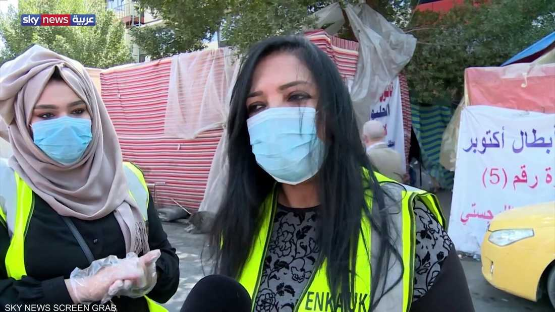 العراق.. كورونا أدى لتراجع أعداد المشاركين بالاحتجاجات