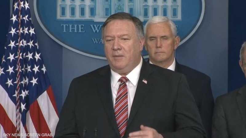 بومبيو: سنحاسب إيران على استهداف قواتنا في العراق