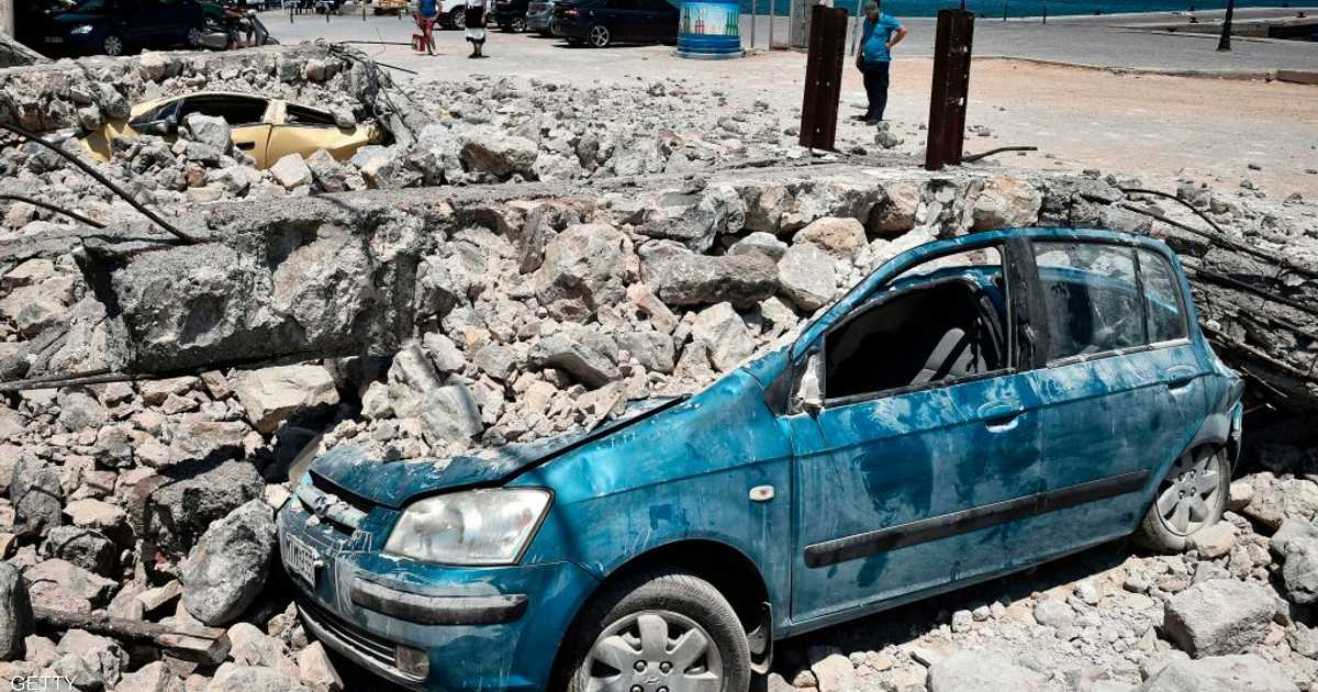 زلزال قوي يضرب اليونان   أخبار سكاي نيوز عربية