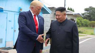 ترامب يعرض على زعيم كوريا الشمالية المساعدة للتصدي لكورونا