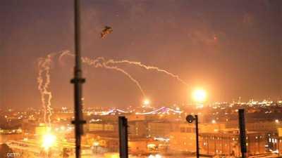 الهجوم رقم 26.. سقوط صاروخين داخل المنطقة الخضراء في بغداد