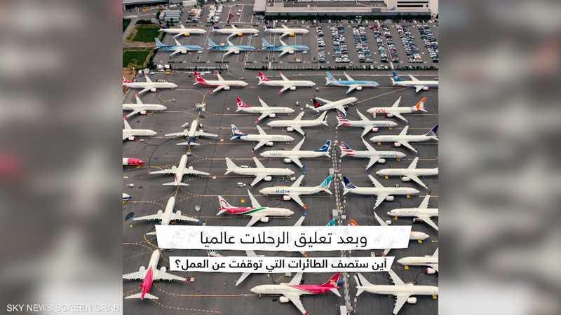 كورونا يلحق خسائر مؤلمة بقطاع الطيران