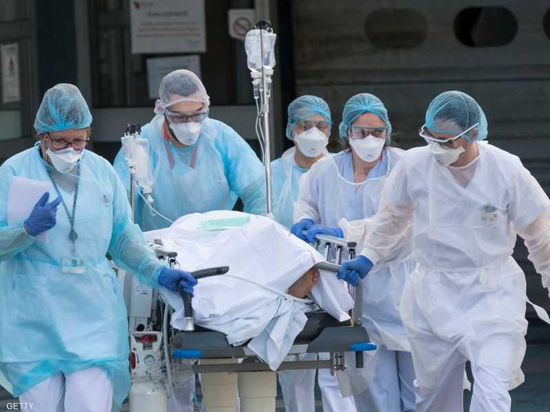 أودى فيروس كورونا بحياة 2314 شخصا في فرنسا