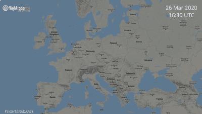 كيف أثر كورونا على الطيران في أوروبا؟.. الإجابة في صورتين