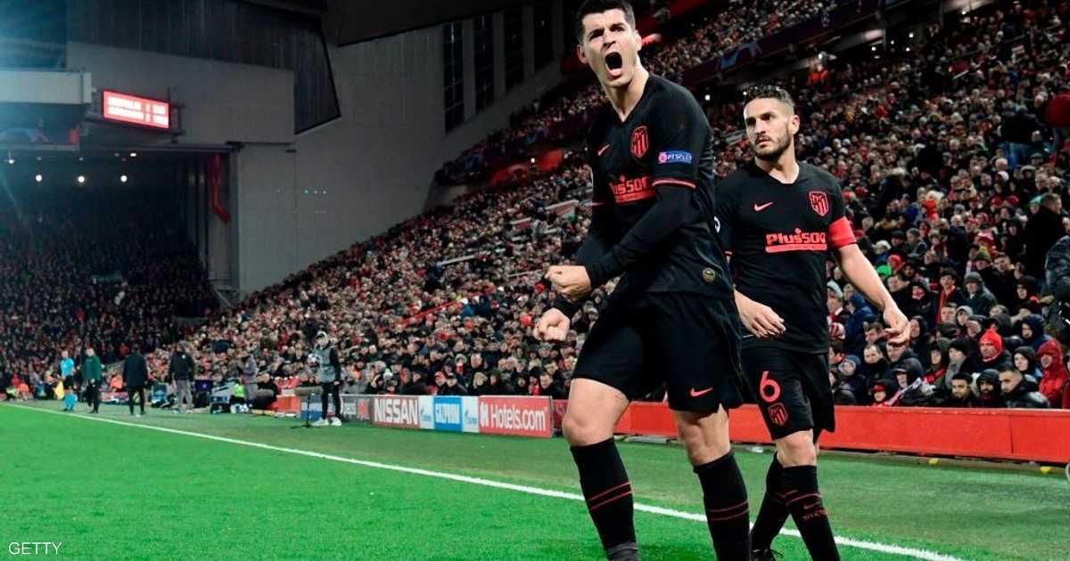 """بسبب كورونا.. أتلتيكو مدريد يتخذ """"القرار الصعب"""" بشأن لاعبيه"""