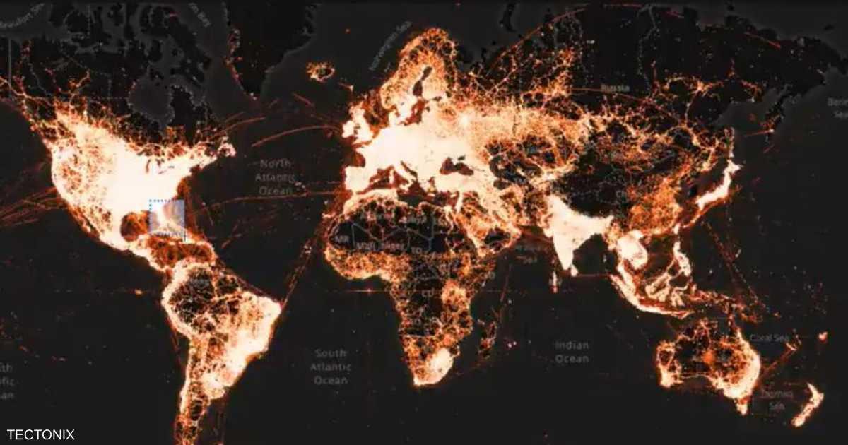 """خريطة حرارية تظهر احتمال انتشار """"أكبر"""" لكورونا في أميركا"""