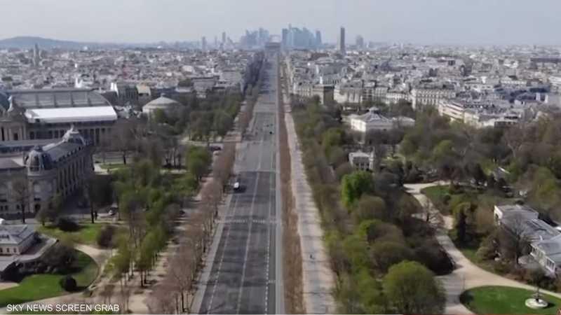فرنسا تدخل أسبوعها الثاني من العزل الصحي