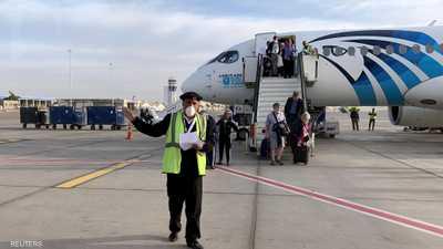 طائرة مصرية تغادر خلال أيام لإعادة المصريين العالقين بأميركا